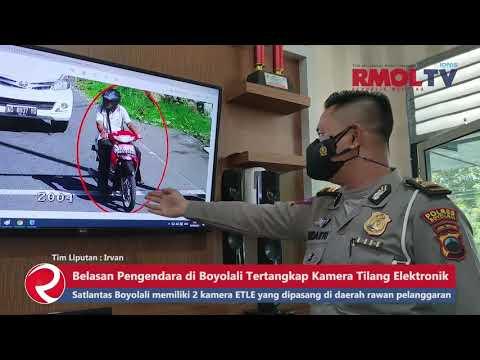 Belasan Pengendara di Boyolali Tertangkap Kamera Tilang Elektronik
