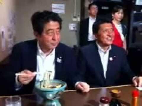 安倍総理、うどん県へようこそ!