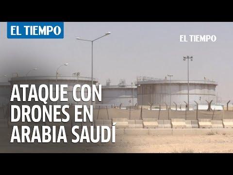 Arabia Saudí intenta restablecer producción de petróleo tras ataque con drones