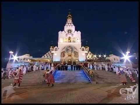 Александр Лукашенко принял участие в торжественной церемонии «Молитва за Беларусь»