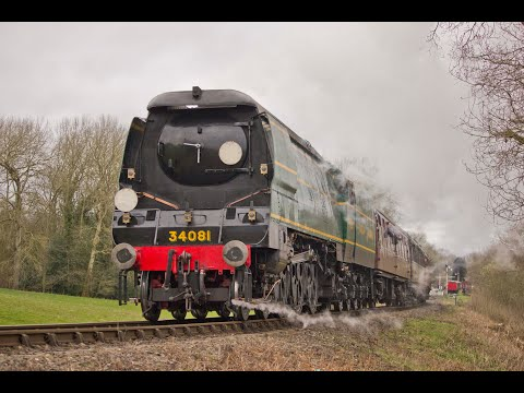 The Severn Valley Railway Spring Steam Gala 17th - 18th Marc…