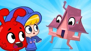 My Magic Houses come alive! Morphle and the living houses. Animation for kids