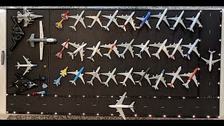RONIK's International Airport ✈ Biggest airplane collection for kids-50+ metal die cast planes