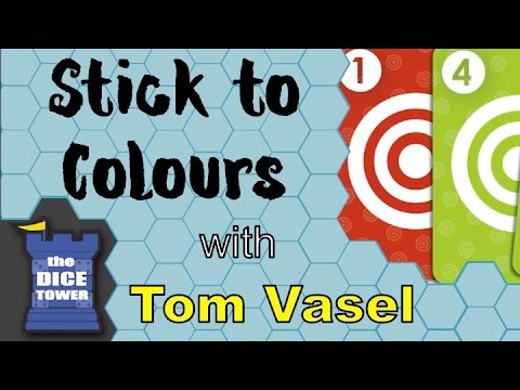Dice Tower Reviews: Stick to Colours