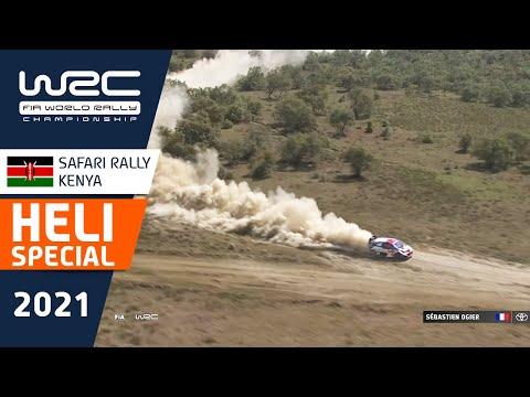 ヘリ映像で見る WRC 2021 WRC第6戦ラリー・ケニアのハイライト動画