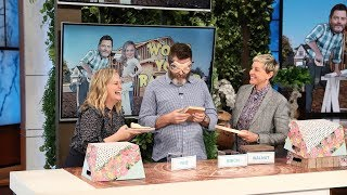 Nick Offerman & Amy Poehler Play 'Wood You Rather?' - Video Youtube