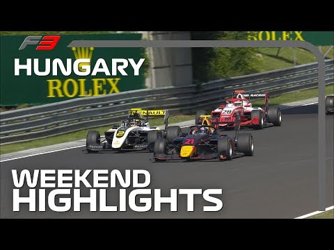Formula 3 Round 5 Highlights | 2019 Hungarian Grand Prix