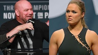 Dana White Wants Ronda Rousey to Stay AWAY from UFC