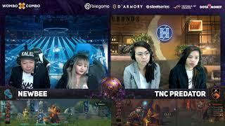 TNC Predator vs Newbee Game 2 (Bo2)   The International 2019 Groupstage
