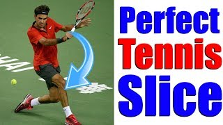 How To Hit Perfect Slice Backhands In Tennis In 3 Simple Steps