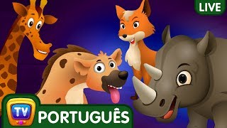 Ovos Surpresa   Canções em Português para Crianças   ChuChuTV Brazil Live Stream