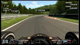 Gran Turismo 6 Ayrton Senna Lotus 97T 4:56.589 SUB 5-Minute Nurburgring Nordschleife Lap