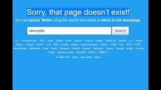 Uhuru is offline. This is why - VIDEO
