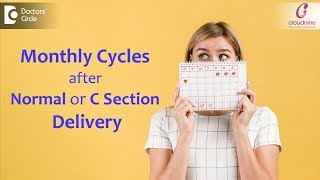 First Periods After Delivery | Will it vary for Normal Delivery or C Section? - Dr. Shashikala Hande