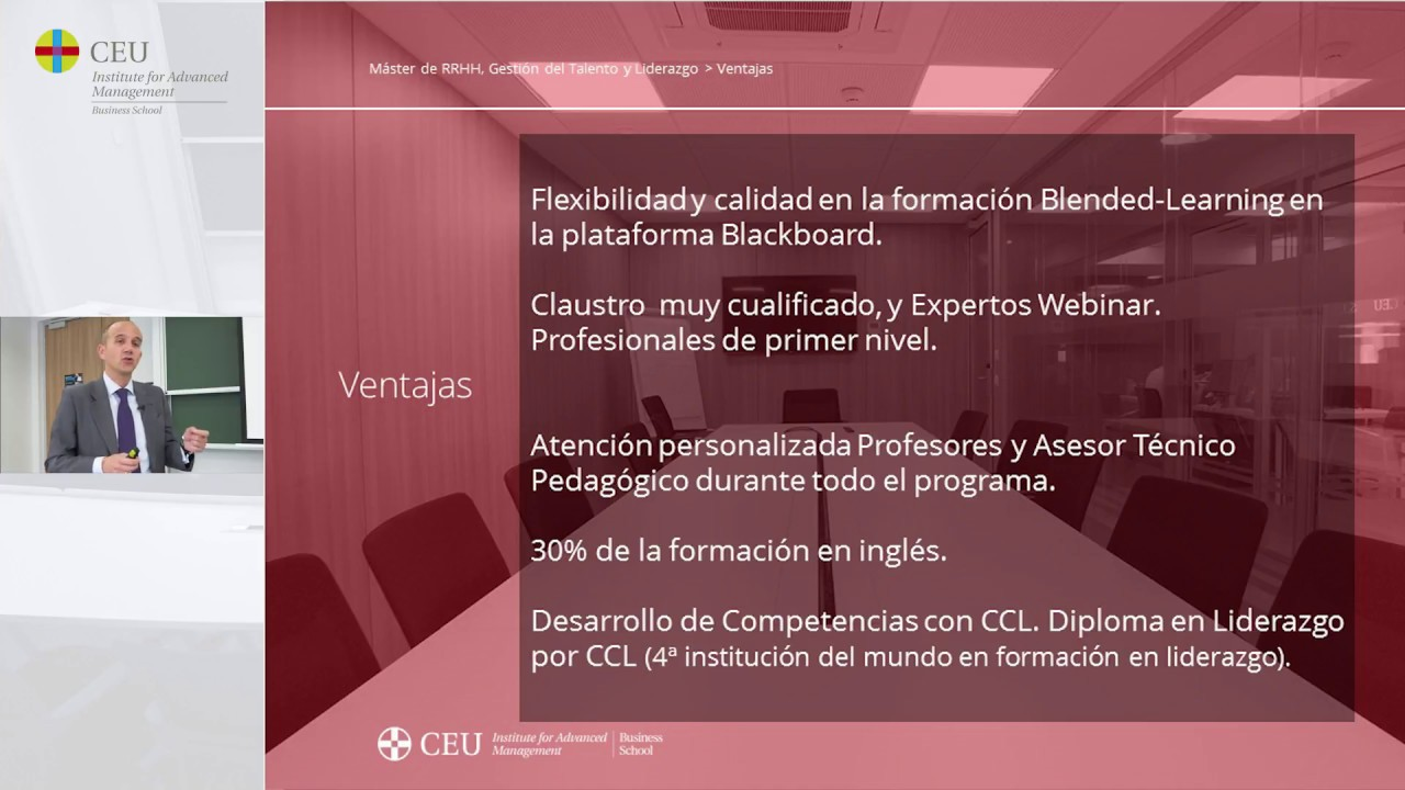 Video Evento IAM CEU