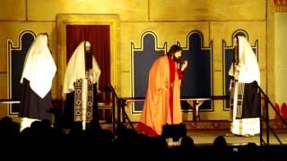 preview picture of video 'Wielka Środa, Uczta u Szymona, Zdrada Judasza - Misterium Męki Pańskiej w Kalwarii Zebrzydowskiej'
