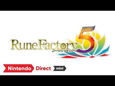任天堂線上發表會 符文工廠5最新宣傳影片