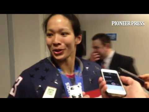 At 31 Julie Chu is US's oldest player and most introspective with 4 Olympics and still no gold