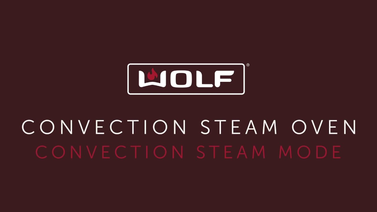 Wolf Convection Steam Oven (touch controls) - Convection Steam Mode - Ribs