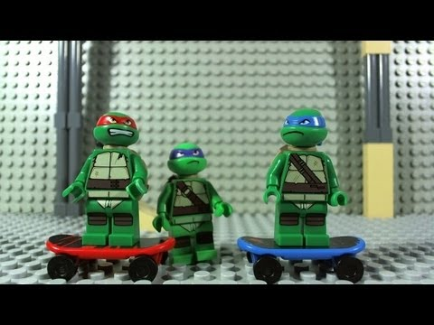 vido lego tortues ninja 79101 la moto dragon de shredder