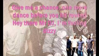 JLS Last Song Lyrics