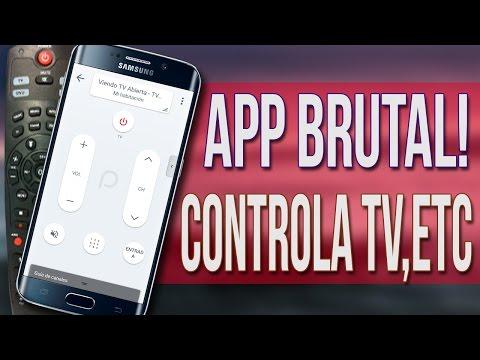 La Mejor APP Para Controlar Tu TV, DVD, BLU RAY, ETC! APP BRUTAL!