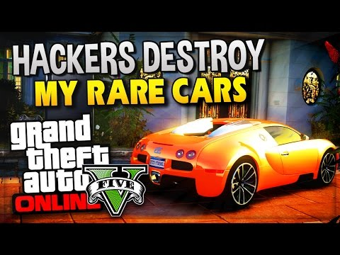 GTA 5 Online - Mods Destroy My RARE Cars In GTA V! (GTA 5 Funny Moments Gameplay)