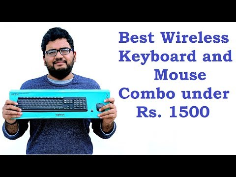 Best Wireless Keyboard and Mouse Combo under Rs. 1500, Logitech MK235 Unboxing and Review