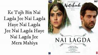 Nahi Lagda (Full Song) - NoteBooks   Asees Kaur, Vishal Mishra