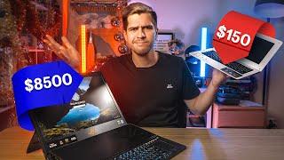 Не дай плохим людям купить мерч канала: https://vk.cc/9x8cxQ  Я случайно снял древний формат дорого vs дешево от мира техноблогинга. Сравниваю самый дорого в России игровой ноутбук ASUS ROG MOTHERSHIP с RTX 2080 c самым дешевым из легально продающихся IRBIS NB102 __________________________________________________  ПОДПИСЫВАЙТЕСЬ НА СОЦИАЛЬНЫЕ СЕТИ  Telegram https://teleg.run/usachevruslan Вконтакте  http://vk.com/UsachevRuslan Instagram  http://instagram.com/UsachevRuslan Twitter  http://twitter.com/RuslanUsachev __________________________________________________  Почта для связи: UsachevShow@gmail.com