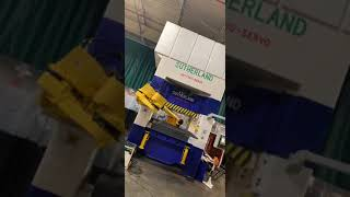 Integrating a Fanuc M-710iC 50 robot with a Sutherland 300 Ton Hydraulic Servo Press utilizing a Com