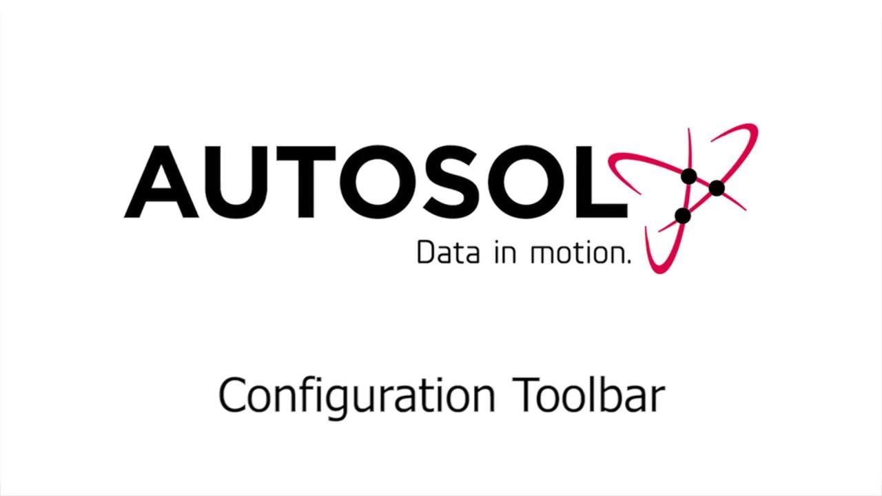 ACM Configuration Toolbar
