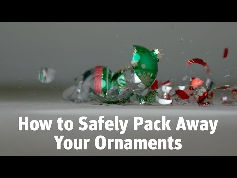 How To Safely Pack Away Your Christmas Ornaments