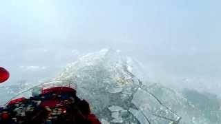 Смотреть онлайн Как ледокол проходит через лёд