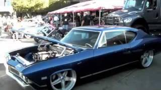 """DUBSandTIRES.com 1968 Chevrolet Chevelle Supercharged 22"""" MUSCLE CAR ASANTI FORGIATO CHROME RIMS"""