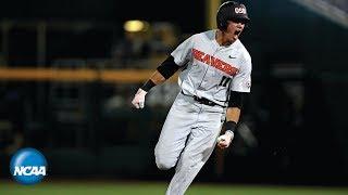 2018 CWS: Full inning of Oregon State's crazy Game 2 comeback vs. Arkansas