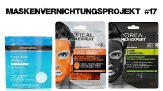 Maskenvernichtungsprojekt #17   Neutrogena, Loreal Men Expert   beauty rookie
