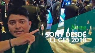 Sony en CES 2018