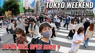 (Japan Travel Update Before Tokyo Olympic) Shibuya, Asakusa, Shinjuku, Akihabara, Ueno Ameyoko #296