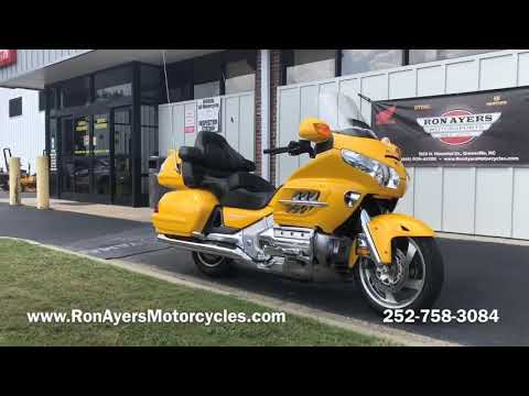 2010 Honda Gold Wing® Audio Comfort Navi XM in Greenville, North Carolina - Video 1