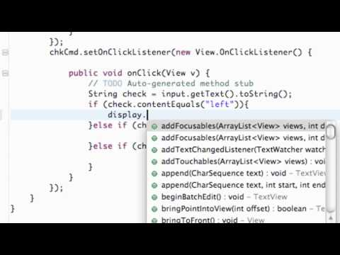 Android Application Development Tutorial - 29 - Set Gravity within Java