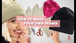 How To Make A Beanie   Teach Me Fashion