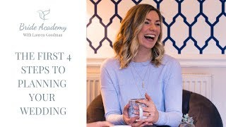 First Steps to Wedding Planning (WATCH THIS BEFORE YOU START YOUR WEDDING PLANNING)