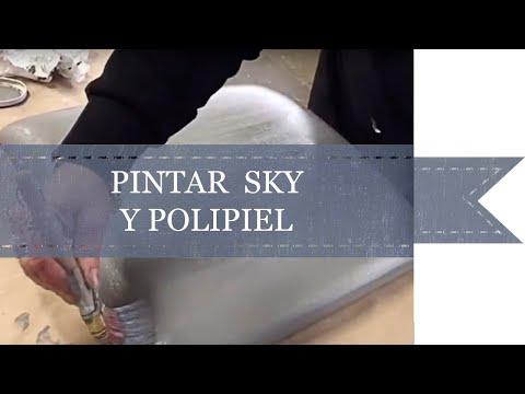 Pintar polipiel o skay con Mary Paint