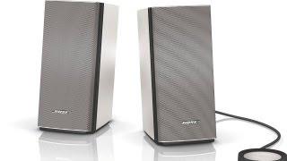 Bose Companion 20 Multimedia Desktop Speakers Review