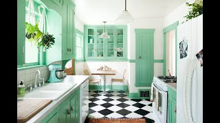 30 Best Green Kitchen Cabinet Ideas - Top Green Paint Colors For Kitchens