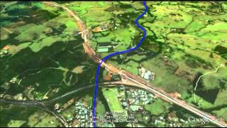 Bird\'s-eye view of Northern River Rail