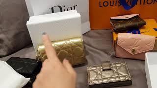 LV & Dior SLG Haul😍Another ZOE? Dior's Victorine wallet?😍