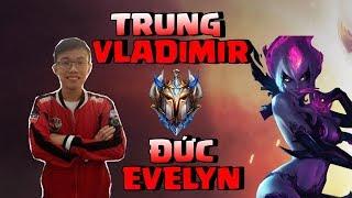 Trung Vladimir đối đầu Đức Evelyn - Sẽ ra sao khi team SSS Boy 1 Champ tàn sát nhau