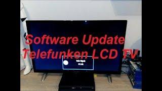 Software Update Telefunken LCD TV